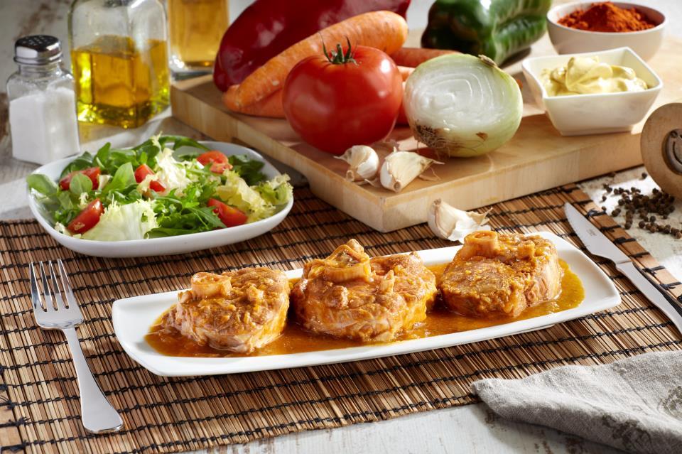 Codillo de Cerdo en salsa de Mostaza